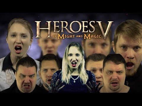 Heroes of Might and Magic V Main Theme - Live Voices