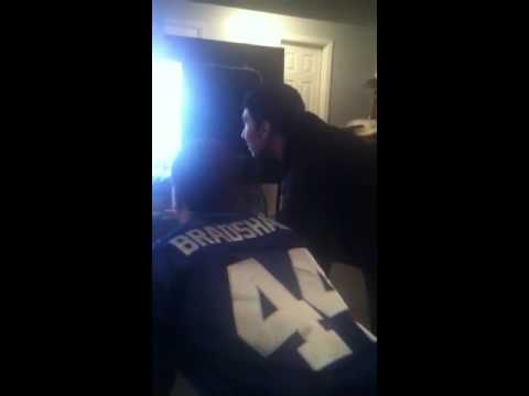 Giants 2012 Superbowl victory reaction