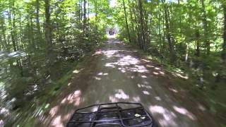Claremont (NH) United States  city photos gallery : CLAREMONT NH SUGAR RIVER ATV TRAILS PART 1