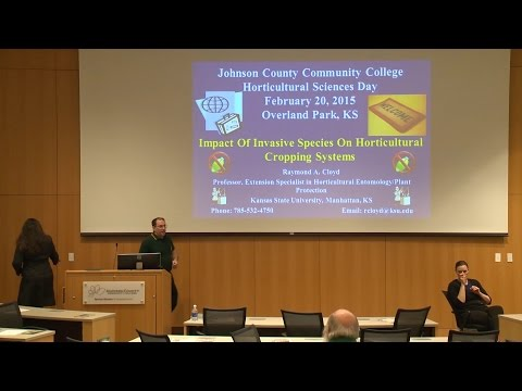 Dr. Raymond Cloyd, Impact of Invasive Species on Horticultural Cropping Systems