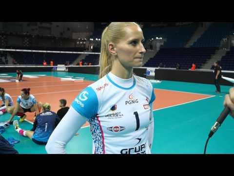 Anna Werblińska i Izabela Kowalińska o meczu z Pałacem Bydgoszcz