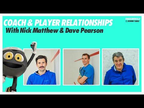 SquashSkills Podcast - Episode 4 - Nick Matthew & Dave Pearson