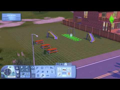 Video 8 de Los Sims 3:  Como hacer un parque