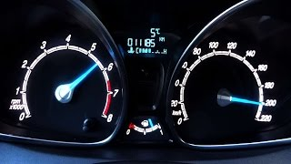2. Ford Fiesta 1.0 Ecoboost 125PS Acceleration 0-100 0-200 Top Speed Test