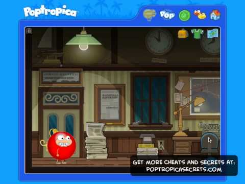 Poptropica Cheats Ghost Story Full Walkthrough