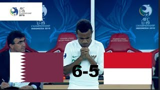 Video INDONESIA U-19 VS QATAR U-19 (AFC U-19) 5-6 MP3, 3GP, MP4, WEBM, AVI, FLV November 2018