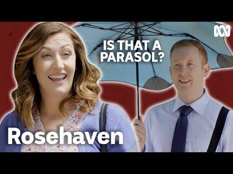 Sun's out, parasols out | Rosehaven