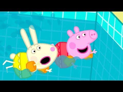 Peppa Pig Français | Peppa va à la Piscine | 2018 Compilation | Dessin Animé #PeppaPigEnFrancais