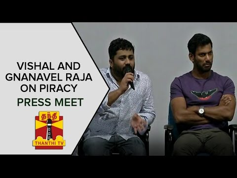 Actor-Vishal-Gnanavel-Raja-Press-Meet-on-Piracy-and-Action-by-Producers-Council-Thanthi-TV