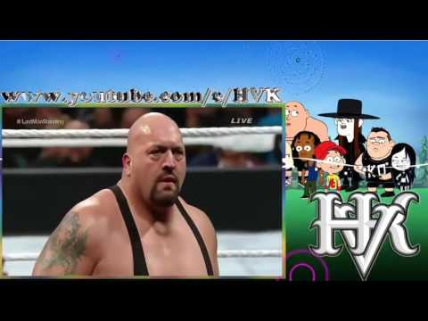 Roman Reigns Vs Big Show Extreme Rules Full Match - WWE Last Man Standing Match 2016