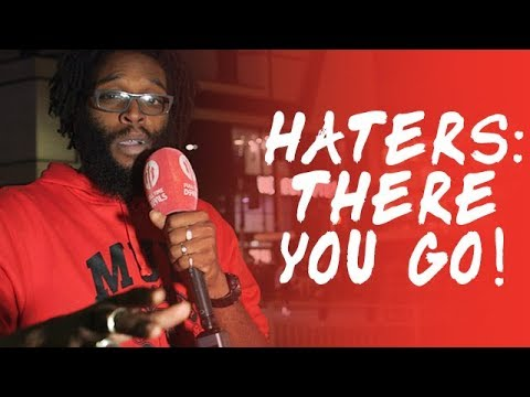 Haters: There You Go! Manchester United 2-1 Leicester City
