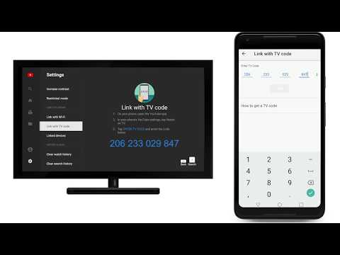 How to use your phone or tablet to activate YouTube on TV with a TV code