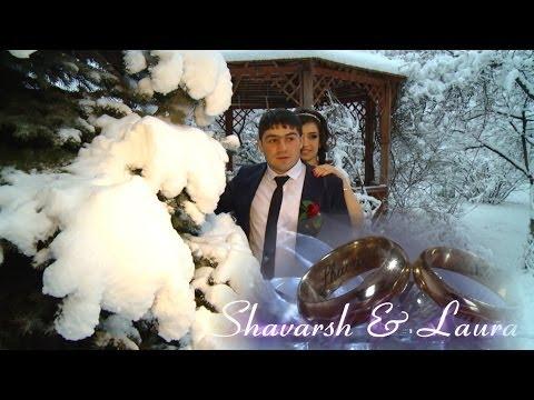 OUR WEDDING DAY SHAVARSH & LAURA 8 12 2013 CLIP (видео)