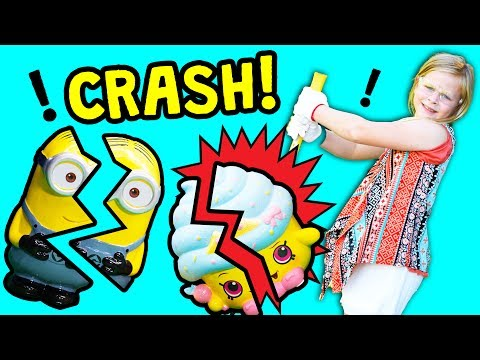 Video Assistant Surprise Piggy Bank Smash with Paw Patrol and Minion Toys download in MP3, 3GP, MP4, WEBM, AVI, FLV January 2017