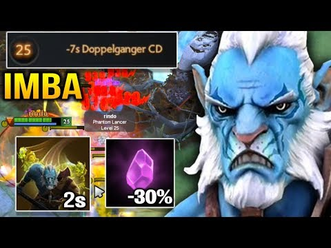 Meracle IMBA Phantom Lancer 2s Doppelganer Can't Touch Him Dota 2 (видео)