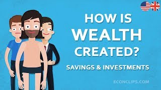 Video 💰 How is Wealth Created | Savings and Investments MP3, 3GP, MP4, WEBM, AVI, FLV September 2019