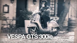 4. TEST | VESPA GTS 300ie Touring