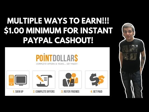 POINTDOLLARS | CASHOUT QUICK DIRECTLY TO PAYPAL 💰💵💰