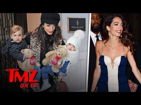 George & Amal Clooney's Twins Are Adorable!!! | TMZ TV