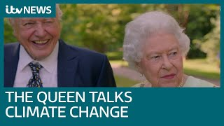 Video Queen shows funny side in conversation with Sir David Attenborough for ITV documentary | ITV News MP3, 3GP, MP4, WEBM, AVI, FLV Juli 2018