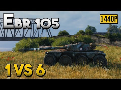 Panhard EBR 105: Skill Capped - World of Tanks