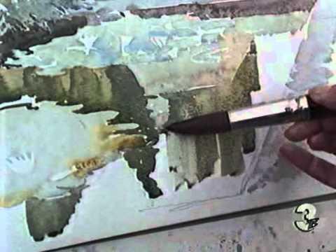 Виноград акварелью aquarell watercolor mp4