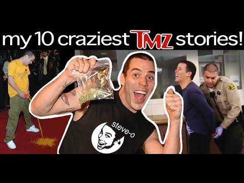My Ten Juiciest TMZ Stories! | Steve-O