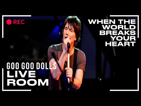 Tekst piosenki Goo Goo Dolls - When the world breaks your heart po polsku