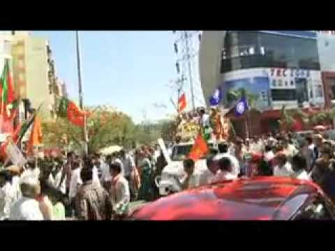 Election campaign rally of Gopal Shetty