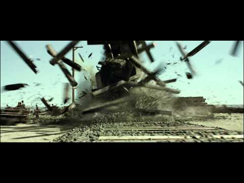 The Lone Ranger Clip 'Train Wreck'