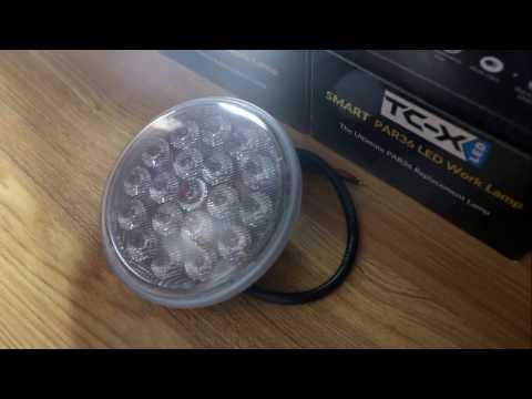 TC-X® Par36 6000K Farming Spring Work Light Taxing Light Landing Light (Spot/Flood)