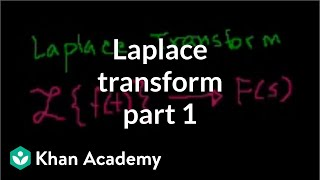 Laplace transform 1 | Laplace transform | Differential Equations | Khan Academy