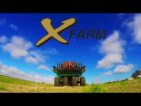 X-Farm NTX Planter (видео)