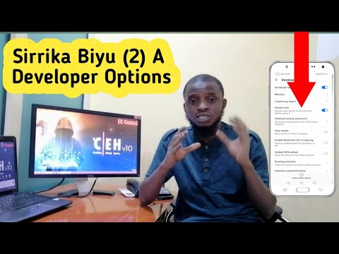 Ko Kunsan Wannan Boyayyun Sirrika Biyu (2) A Developer Options?