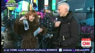New Year's Eve Live 2015 Anderson Cooper Kathy Griffin Times Square New York (4/17)