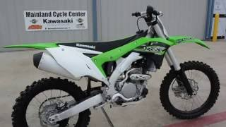 6. $7,749:  The All NEW! 2017 Kawasaki KX250F Overview and Review