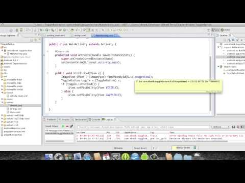 Android Development Course - Chapter 24 -Toggle Button