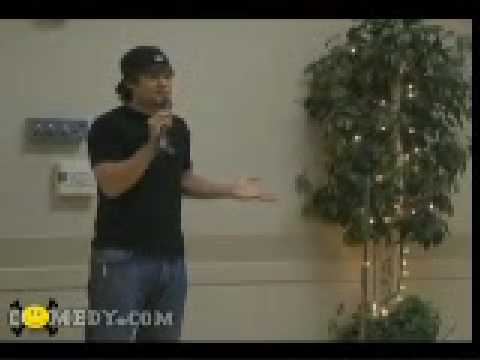 Theo Von - Performing with Kamikaze Comedy at Senior Centre