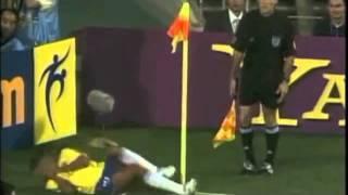 Rivaldos Unsportlichkeit bei der WM 2002