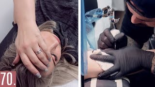 Video Getting My First EVER Tattoo At 17... MP3, 3GP, MP4, WEBM, AVI, FLV April 2018