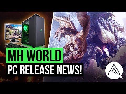 Monster Hunter World News   PC Release Window Announced!