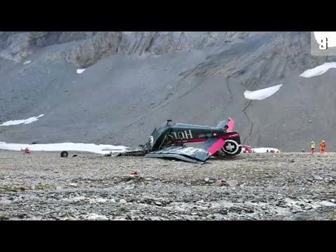 Schweiz: 20 Tote bei Absturz einer JU-2 in den Schweizer Alpen