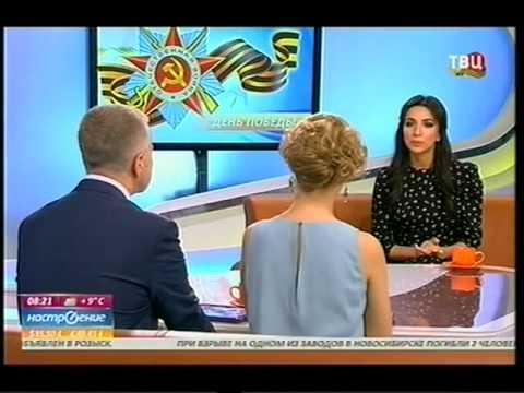 Зара в эфире телепередачи 'Настроение' (видео)