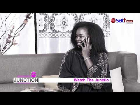 Junction (Susan Makula) Receives a call from her Hubby.