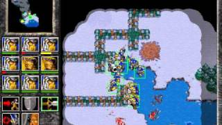Warcraft 2: Tides of Darkness - Human Campaign Gameplay - Miss...