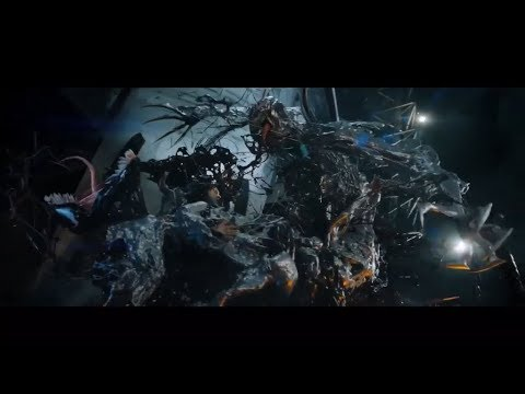Venom (2018) Venom vs Riot part 1/2