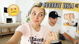 WHY WE GOT RID OF OUR NEW TESLA... + NEW CAR TOUR! by Aspyn + Parker