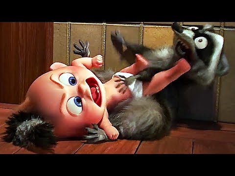 INCREDIBLES 2 Jack Jack VS Raccoon FULL Scene (Animation, 2018)