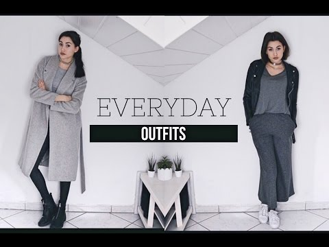 4 EVERYDAY OUTFITS