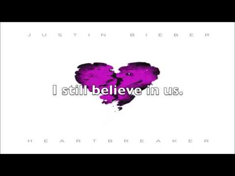 Justin Bieber Heartbreaker – OFFICIAL LYRICS VIDEO – ON SCREEN